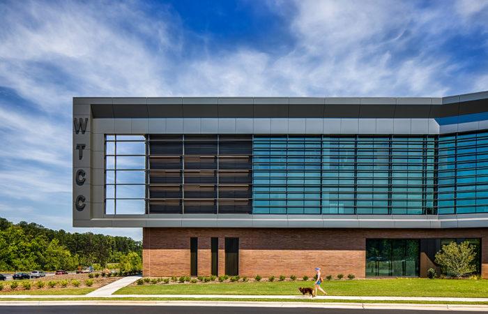 Wake Tech RTP Campus - Advanced Exterior Systems